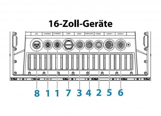 Le Zeus³ de B&G est un traceur facile à utiliser, destiné à la navigation au large et à la régate. L'écran tactile 12 pouces est au service d'une électronique puissante avec de nombreuses fonctions spécialement conçues pour la navigation à la voile. (Image 5 de 9)