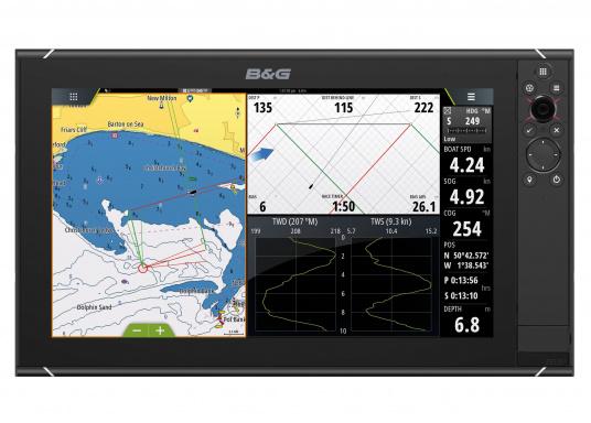 Le Zeus³ de B&G est un traceur facile à utiliser, destiné à la navigation au large et à la régate. L'écran tactile 12 pouces est au service d'une électronique puissante avec de nombreuses fonctions spécialement conçues pour la navigation à la voile. (Image 2 de 9)