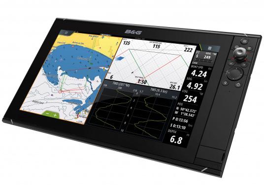 Le Zeus³ de B&G est un traceur facile à utiliser, destiné à la navigation au large et à la régate. L'écran tactile 12 pouces est au service d'une électronique puissante avec de nombreuses fonctions spécialement conçues pour la navigation à la voile. (Image 1 de 9)