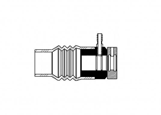 Le joint tournant PSS est une pièce mécanique qui comprend un rotor en inox et une pièce d'appui carbone. (Image 4 de 5)