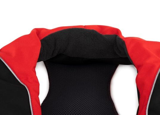 Le gilet de sauvetage à gonflage automatique XD 220 SEATEC offre une excellente liberté de mouvement et un confort appréciable grâce à son ergonomie. Sa flottabilité de 220 N lui permet d'être efficace en toutes circonstances, même avec de lourds vêtements. (Image 5 de 11)