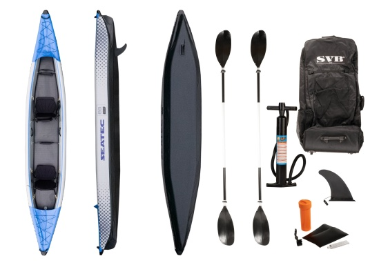 Partez à la découverte d'aspects inexplorés de la nature à bord des kayaks gonflable SEATEC. (Image 11 de 12)