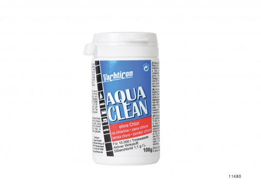 Aqua Clean garde votre eau toujours propre. En juste deux heures, votre eau potable est désinfectée et fraîche, et ce pour six mois. Sans chlore ni produits chimiques.  (Image 3 de 4)