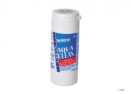 Aqua Clean garde votre eau toujours propre. En juste deux heures, votre eau potable est désinfectée et fraîche, et ce pour six mois. Sans chlore ni produits chimiques.  (Image 4 de 4)
