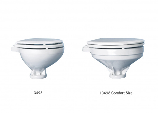 Un design intemporel avec la toute dernière technologie ! Cuvette en porcelaine de chine, lunette et abattant en PVC.  (Image 7 de 7)